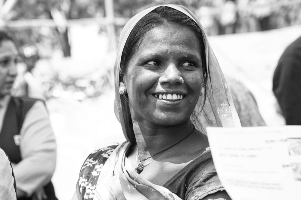 village-woman