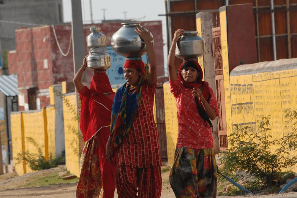 women-facing-water-problems